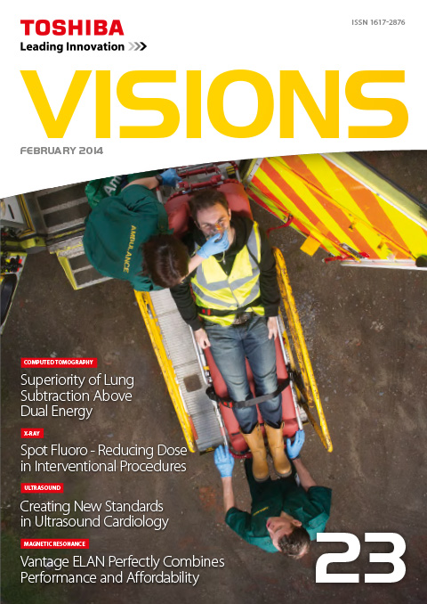 Visions Magazine Archive Canon Medical Systems Switzerland